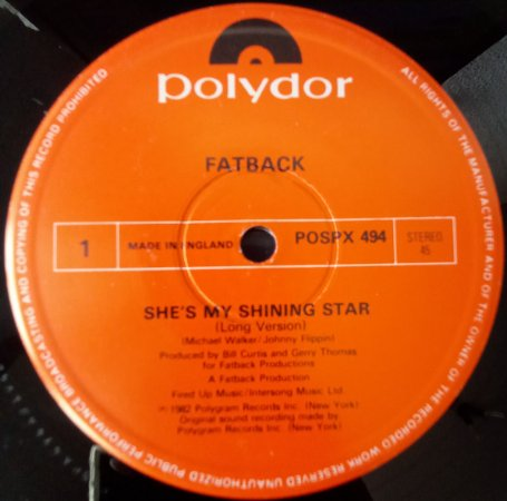 FATBACK - SHE'S MY SHINING STAR