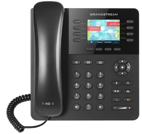 Grandstream GXP2135 Telefone IP Gigabit PoE 8 linhas 32 BLF