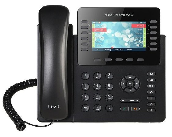 Grandstream GXP2170 - Telefone IP Gigabit PoE 12 linhas 48 BLF