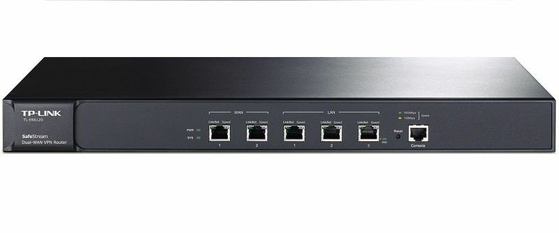 TPLINK TL-ER6120 - Firewall VPN para 2 Links de Internet
