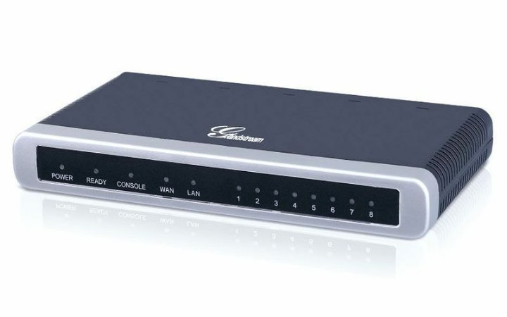 Gateway VOIP Grandstream GXW4108 - 8 Portas FXO