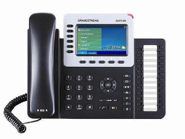 Grandstream GXP2160 - Telefone IP Gigabit PoE Bluetooth BLF