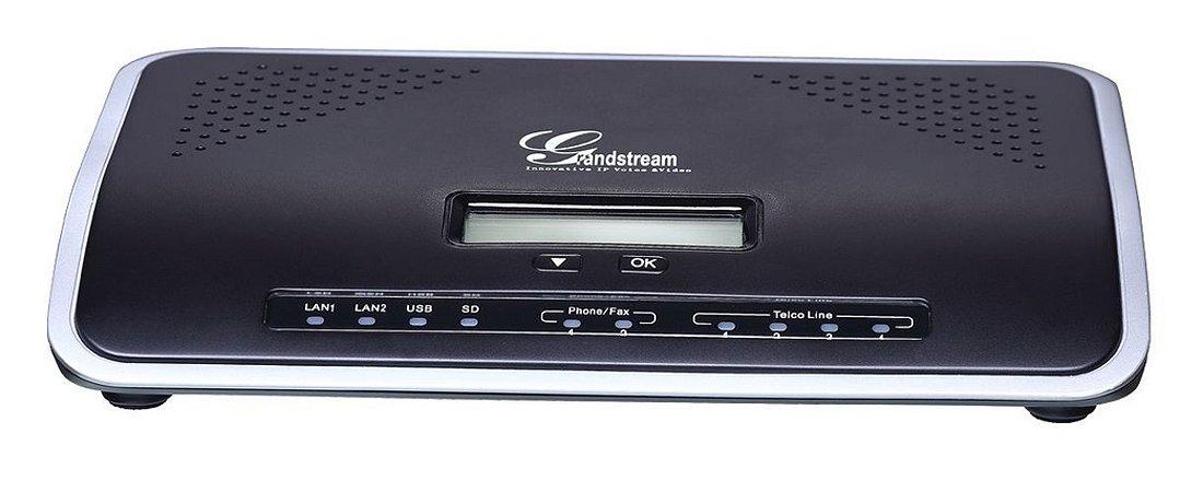UCM6104 - PBX IP com 2 portas FXS e 4 FXO e até 500 ramais