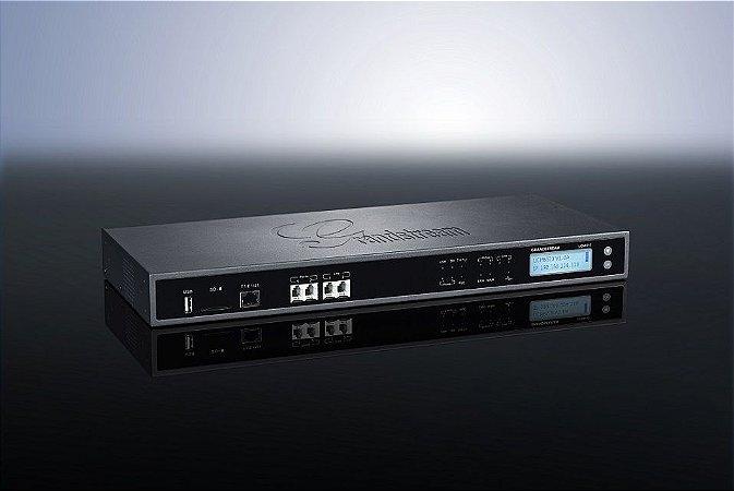 UCM6510 - PBX IP com 2x FXS 2x FXO 1x E1 e 2000 ramais