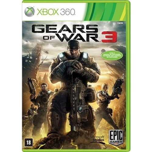 Game Gears Of War 3 - Xbox 360