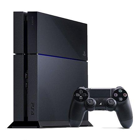 Console Playstation 4 500GB + Controle Dualshock 4 (Fabricado no Brasil com 1 ano de garantia)
