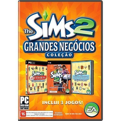 Game The Sims 2 Coleção Grandes Negócios - PC