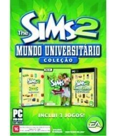 Game The Sims 2 Coleção Mundo Universitário - PC