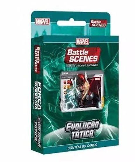 Deck Marvel Battle Scenes Evolução Tática Força Suprema