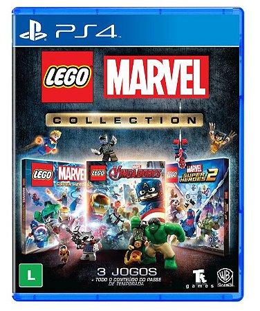 (Lançamento) Jogo Lego Marvel Collection - PS4