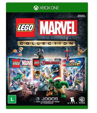 (Lançamento) Jogo Lego Marvel Collection - Xbox One