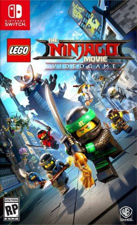 Jogo Lego Ninjago Movie Game - Nintendo Switch