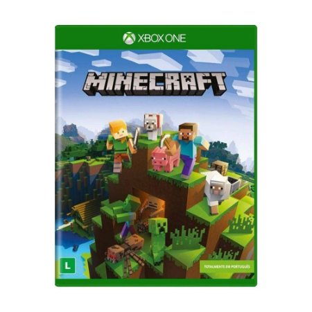 Game Minecraft em Português - Xbox One