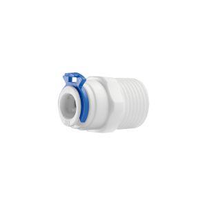 """Conexao reta rosca 1/2"""" para tubo 3/8"""" - Planeta Água"""