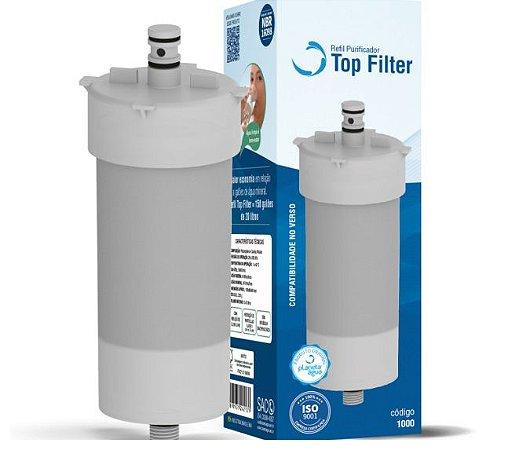 Refil TOP FILTER  Planeta Água para Impac Cristal, Mallory, Mondial e Durin H20