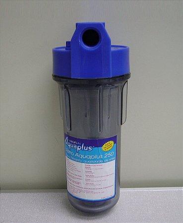 Filtro de agua Aquaplus AT 250 sem Cartucho