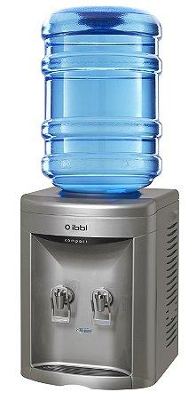 Bebedouro para Garrafão Compacto Prata - IBBL