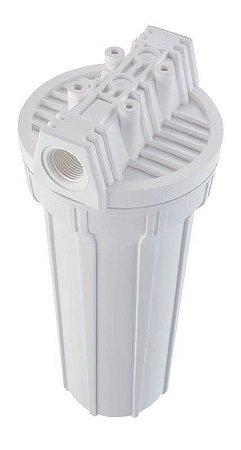 "Filtro para Bebedouro / Pia Branco 9.3/4"" Ponto de Uso Carbon da Hidro Filtros"