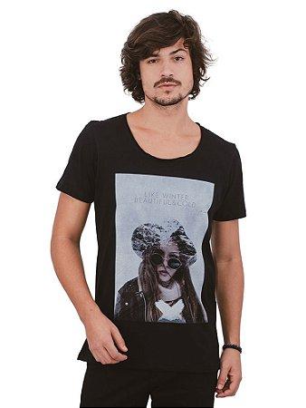 Camiseta Beautiful & Cold Gola Cavada