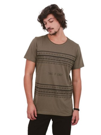 Camiseta Take It Easy Verde