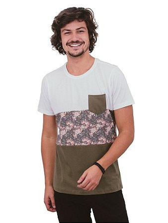 Camiseta Roseira Bordô
