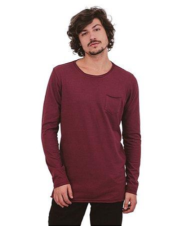 Camiseta Cotton Cold Bordô
