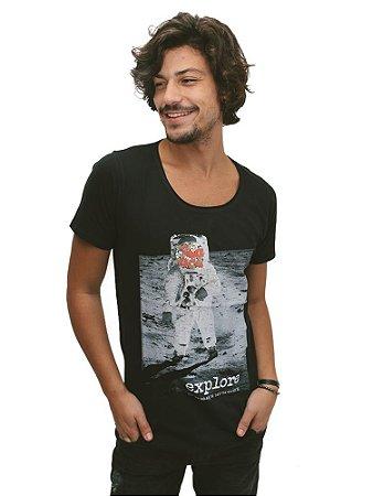 Camiseta Explore Cavada