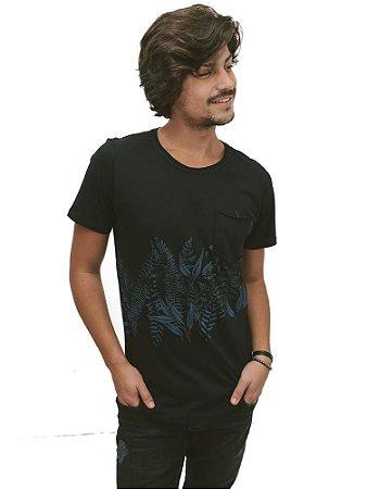 Camiseta Folhagem Vintage