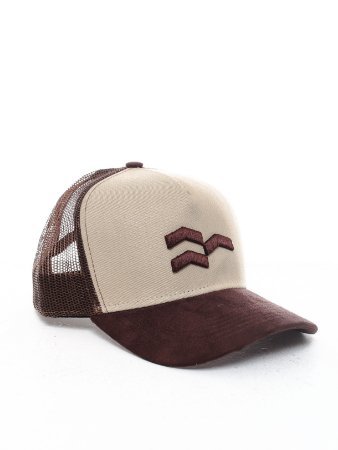 Boné Trucker Off-Brown