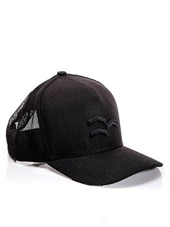 Boné Trucker Black Symbol