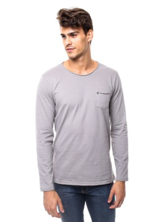 Camiseta Cotton Winter Gray