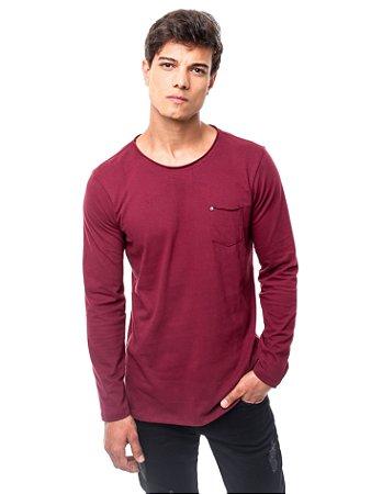 Camiseta Cotton Winter Bordô