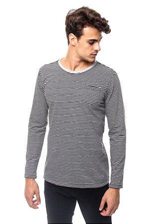Camiseta Cotton Full Print Listras