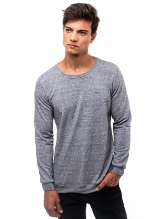 Camiseta Cotton Fleece Cinza