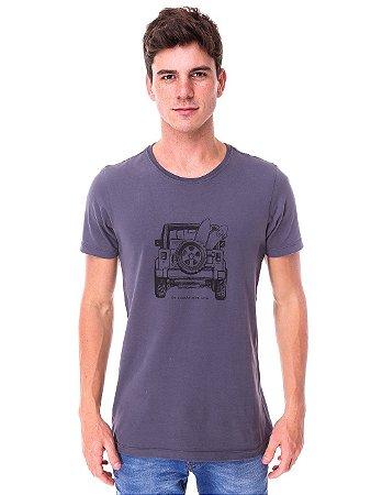 Camiseta Jeep Chumbo
