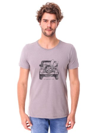 Camiseta Jeep Cinza