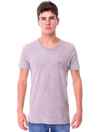 Camiseta Resiliência Cinza
