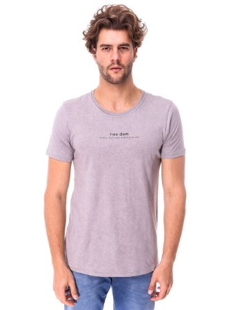 Camiseta Freedom Cinza