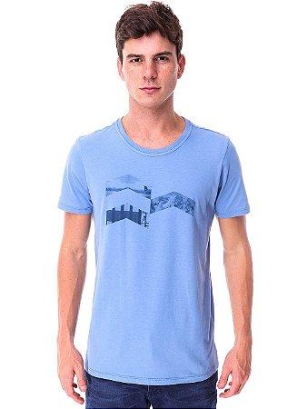Camiseta Winter Sports Azul Claro
