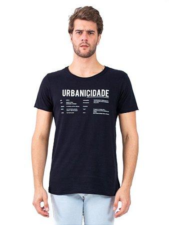 Camiseta Urbanicidade Preto