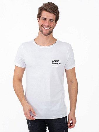 Camiseta Persistence Branco