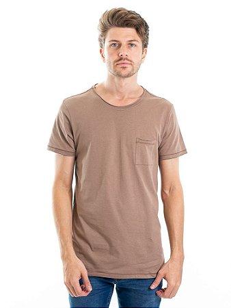 Camiseta Light Basic Bege