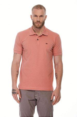 Camisa Polo Piquet Conforto New Rosa