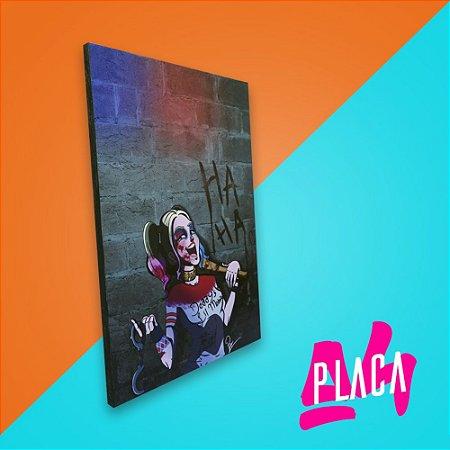 Placa A4 - Harley Quinn