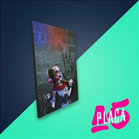 Placa A5 - Harley Quinn