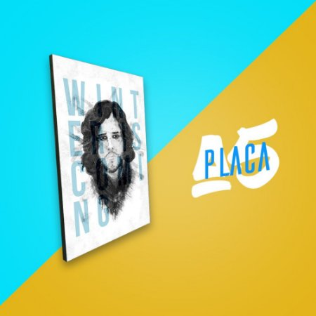 Placa A5 - Jon Snow
