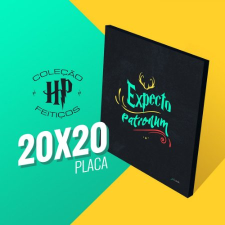 Harry Potter - Expecto Patronum 20x20