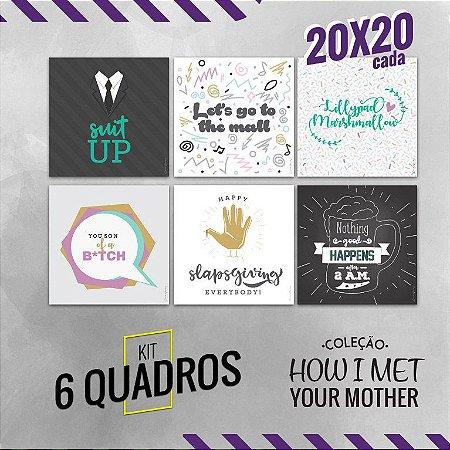 Coleção How i met your mother 20x20