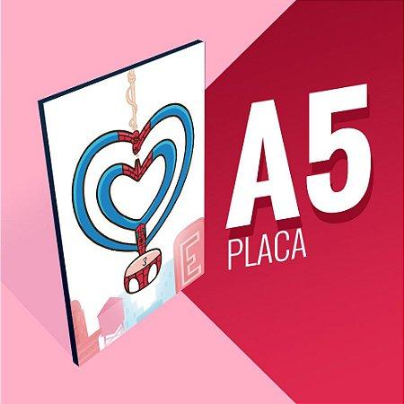 Placa A5 - Spider Kiss