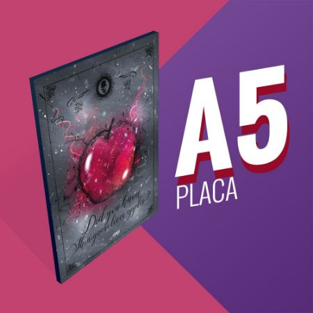 Placa A5 - Did you know shinigami loves apples?